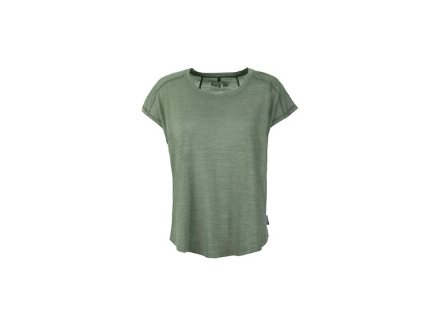 Pally'Hi Cooliography T-shirt ample Femme, heather moss